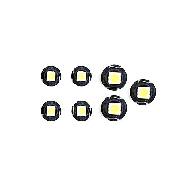 スーパーSALE セール期間限定 10%OFF メール便送料無料 メーターパネルLED エスティマ30 40 MCR 在庫一掃売り切りセール ACR30 H15.5~H17.12 ホワイト メーターLED トヨタ マイナー後 入荷予定 バルブ イルミ T4.7 電球 ライト T4.2 パネル ランプ 内装 T3 インテリア ドレスアップ AC T5