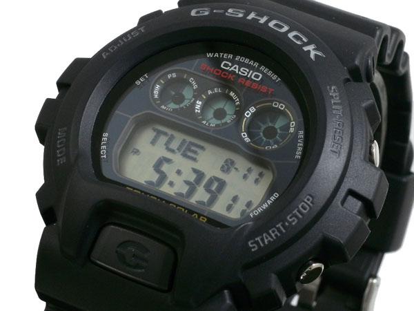 G-SHOCK CASIO カシオ メンズ 腕時計 ソーラー G6900 G-6900-1 ブラック タフソーラー Gショック gshock  g-shock