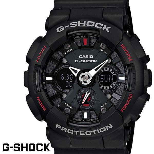 【店内全品ポイント2倍!!】G-SHOCK カシオ Gショック GA-120-1 海外モデル アナログ デジタル ブラック 腕時計 メンズ ジーショック G-SHOCK CASIO うでどけい