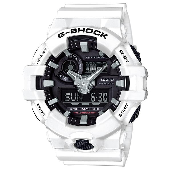 CASIO G-SHOCK ジーショック メンズ 腕時計 GA-700-7AJF ガリッシュカラー 白 ホワイト