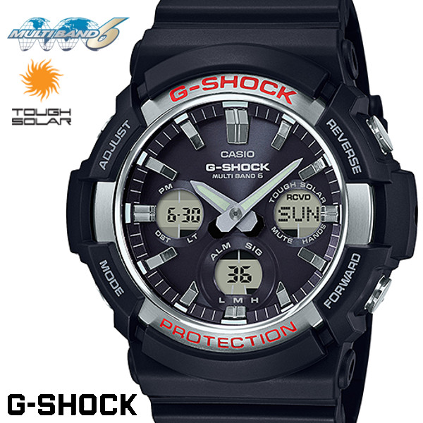 電波ソーラー CASIO G-SHOCK 電波ソーラー GAW-100-1A Gショック アナログ デジタル 腕時計 メンズ