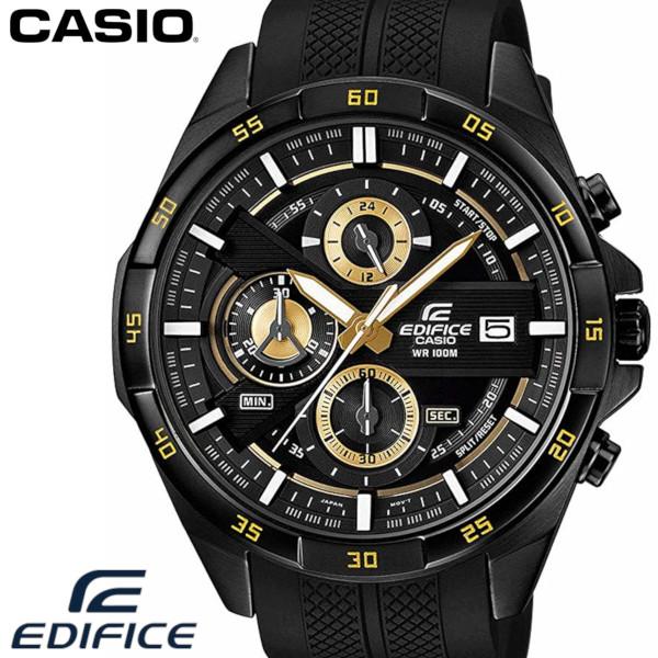 CASIO カシオ EDIFICE エディフィス 腕時計 EFR-556PB-1A 海外 限定モデル ブラック ゴールド ラバーベルト