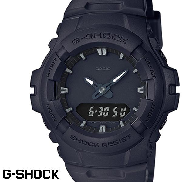 CASIO G-SHOCK ジーショック メンズ 腕時計 G-100BB-1A オールブラック 黒 ミリタリー