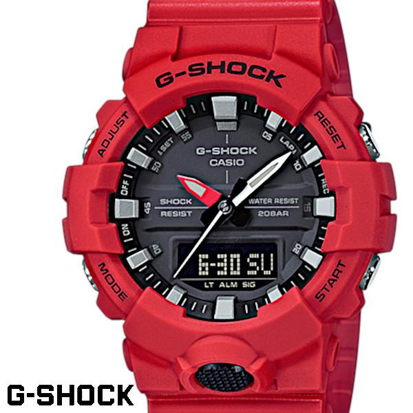 G-SHOCK CASIO カシオ ジーショック g-shock 腕時計 うでどけい メンズ レディーズ GA-800-1AJF アナデジ