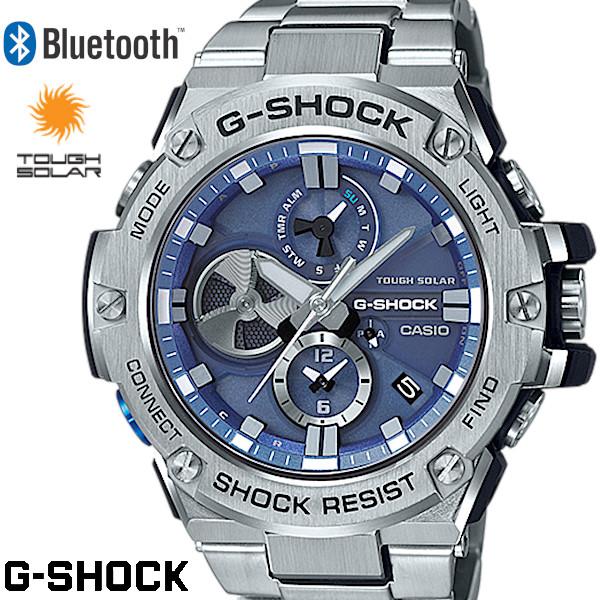 【SS期間中エントリーするだけでポイント5倍!!】G-SHOCK ジーショック メンズ 腕時計 GST-B100D-2AJF Gスチール タフソーラー クロノグラフ Bluetooth うでどけい G-STEEL