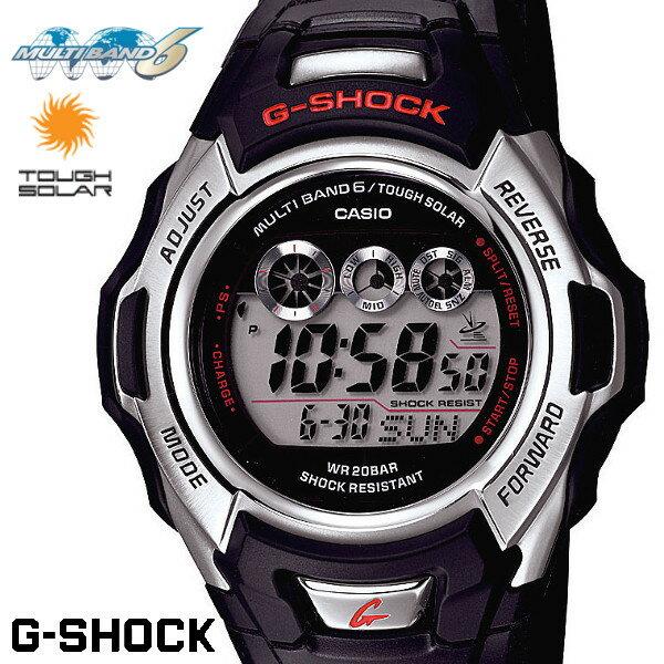 CASIO G-SHOCK ジーショック 電波ソーラー 黒 ブラック デジタル ブランド メンズ 腕時計 GW-M500A-1 G-SHOCK