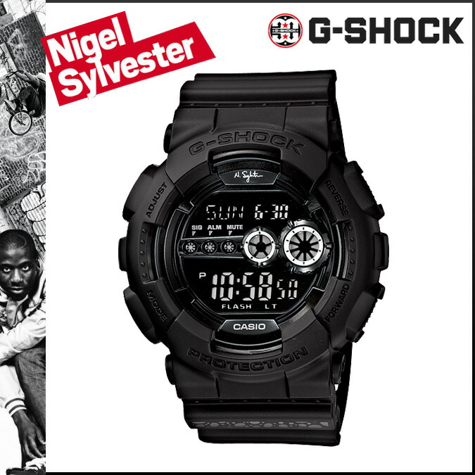 0ca738824a99 auc-gross  Model watch men oar black CASIO G-SHOCK GD-101NS-1 of the 30th  anniversary of G-Shock Nigel Sylvester collaboration