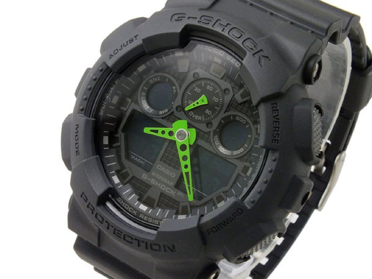 Auc Gross G Shock Casio Watch Mens Ga 100c 1 A 3 Digital And Analog 100l 1a Very Popular Series Of Appeared From Will Not Break In 1983 As The With Range Advanced Technologies Excellent