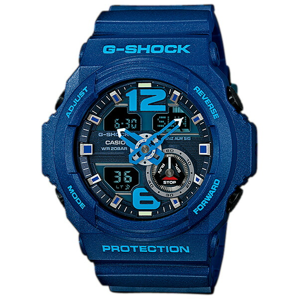 CASIO GA 310 2 G SHOCK ジーショック メンズ 腕時計 ブルーTlK1J3Fc