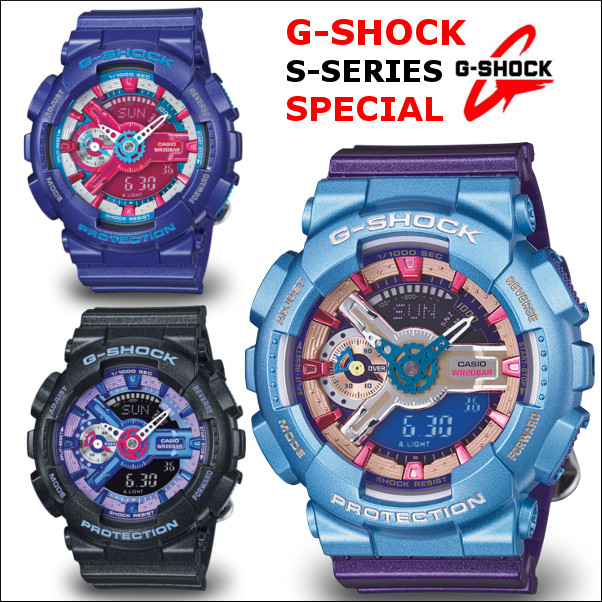 G-SHOCK G손크지손크 GMA-S110HC-1 GMA-S110HC-2 GMA-S110HC-6 손목시계