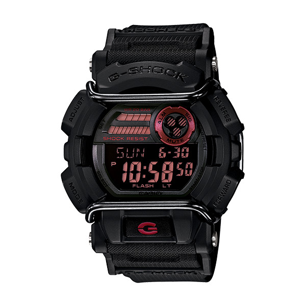 【店内全品ポイント2倍!!】CASIO G-SHOCK ジーショック メンズ 腕時計 GD-400-1JF ブラック クォーツ