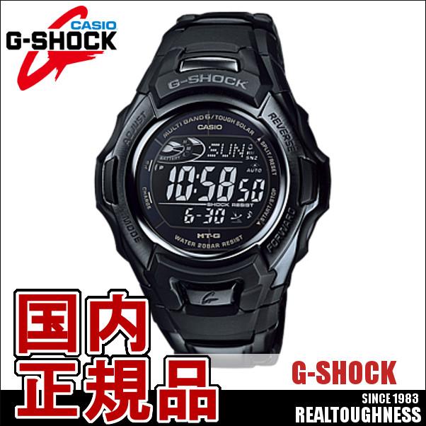 CASIO G-SHOCK ジーショック メンズ 腕時計 MTG-M900BD-1JF ソーラー電波 メタルバンド ブラック
