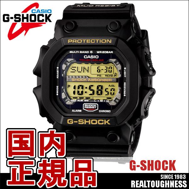 CASIO G-SHOCK ジーショック メンズ 腕時計 GXW-56-1BJF GXseries ジーエックスシリーズ ソーラー電波 電波時計 ブラック