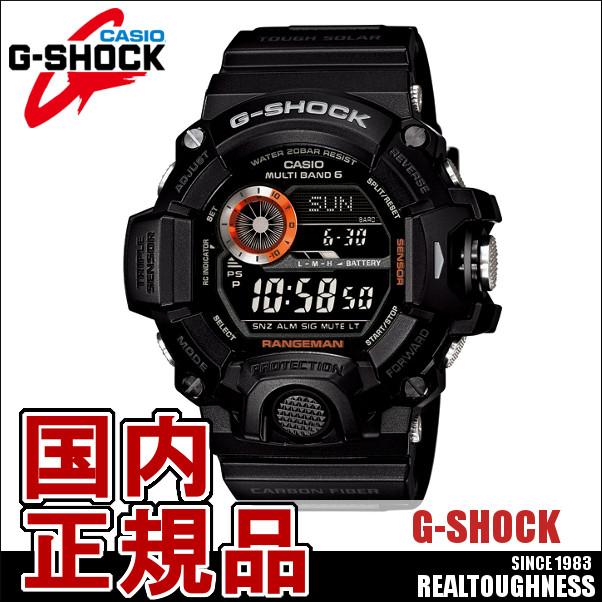 CASIO G-SHOCK ジーショック メンズ 腕時計 GW-9400BJ-1JF マスターオブG レンジマン ブラック