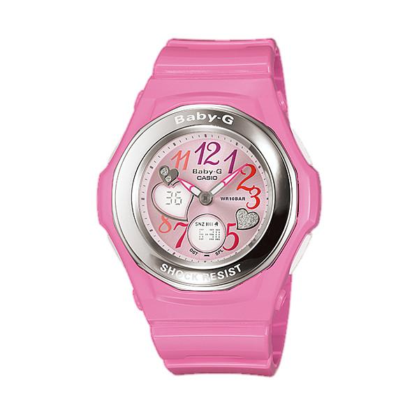 CASIO/BABY-G/カシオ ベビーG ジェミーダイアル 腕時計 うでどけい レディース LADIE'S ピンク BGA-101-4BJF