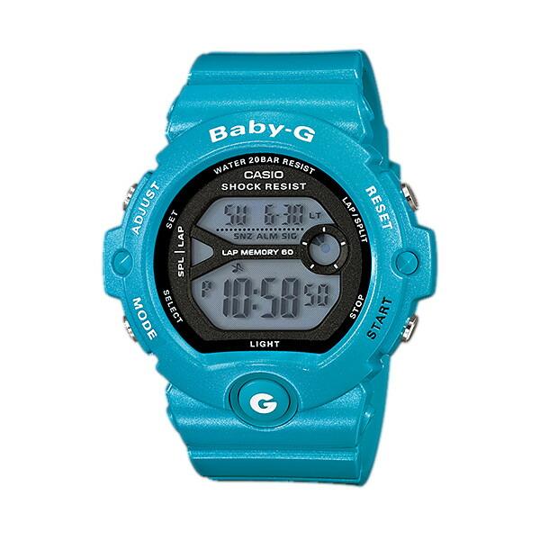 CASIO/BABY-G/カシオ ベビーG ランニングウォッチ 腕時計 うでどけい レディース LADIE'S ブラック ブルー BG-6903-2JF