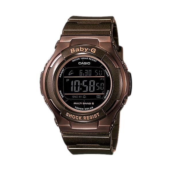 CASIO/BABY-G/カシオ ベビーG トリッパー 電波ソーラー 腕時計 うでどけい レディース LADIE'S ブラック BGD-1310-5JF