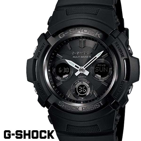 G-SHOCK ジーショック 電波ソーラー 黒 ブラック デジタル アナログ ブランド メンズ 腕時計 AWG-M100B-1A G-SHOCK Gショック CASIO カシオ