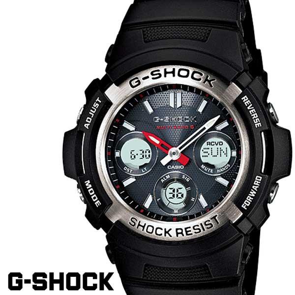 【店内全品ポイント2倍!!】G-SHOCK ジーショック 電波 ソーラー AWG-M100-1A アナログ デジタル メンズ CASIO メンズ 腕時計 うでどけい カシオ G-SHOCK Gショック gshock g-shock