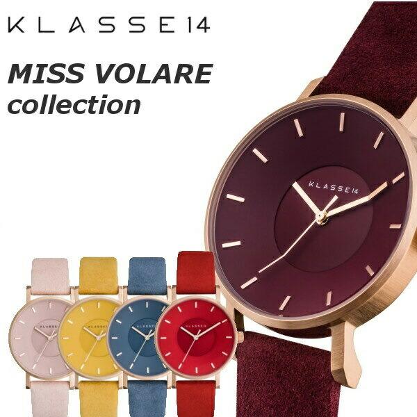 【KLASSE14 クラス14】 腕時計 MISS VOLARE クラッセ14 38mm レディース VO17MV001W VO17MV002W VO17MV003W VO17MV004W VO17MV005W