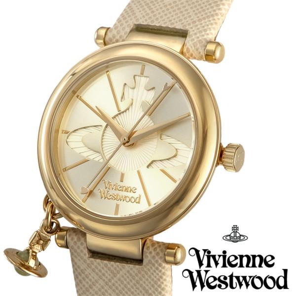 【送料無料】ヴィヴィアンウエストウッド 腕時計 オーブチャーム付き ORB POP オーブ ブランド レディース VV006GDCM ゴールド