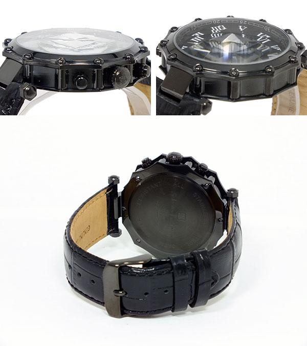 : Salvatore Mara SALVATORE MARRA 10 anniversary watch GD-SM1010-IPBKBK watches wrist watches
