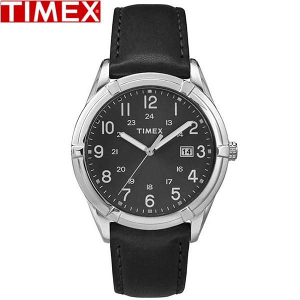 【店内全品ポイント2倍!!】TIMEX/タイメックス/イーストンアベニュー EASTON AVENUE クオーツ 腕時計 メンズ腕時計 TW2P76700 メンズ レザー ブラック