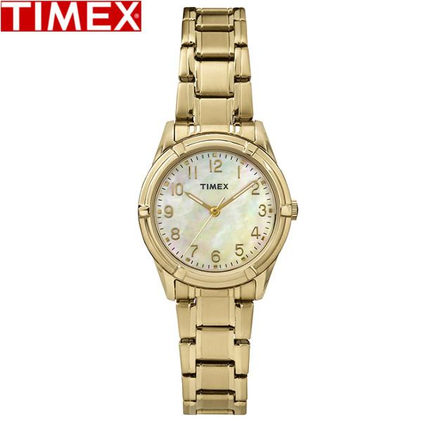 【店内全品ポイント2倍!!】TIMEX/タイメックス/イーストンアベニュー 腕時計 TW2P78300 レディース ゴールド パール