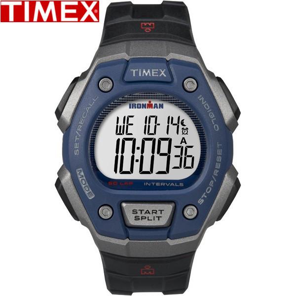 TIMEX/タイメックス/TW5K86000 アイアンマン クラシック 時計 50ラップ フルサイズ スポーツウォッチ クオーツ ブルー