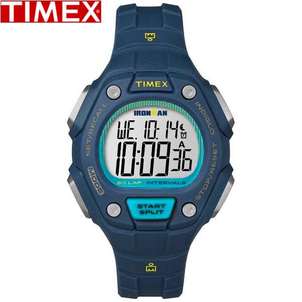 TIMEX/タイメックス/TW5K93600 アイアンマン クラシック 時計 50ラップ ミッドサイズ スポーツウォッチ ブルー