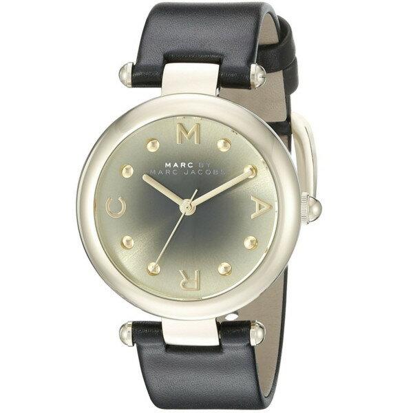 【/あす楽】MARC JACOBS マークジェイコブス 腕時計 レディース レザー ゴールド  MJ1409