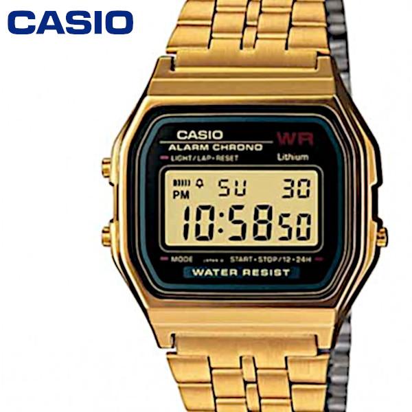 チープカシオ 流行 デジタル 腕時計 送料無料 ゴールド A159WGEA-1 開催中 追跡可能メール便 CASIO