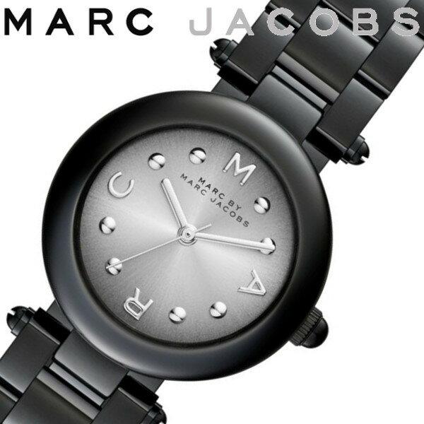 【送料無料/あす楽】MARC JACOBS マークジェイコブス 腕時計 レディース ステンレス ブラック MJ3453
