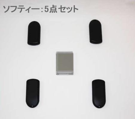 室内専用 ボディ補強 センター サイドのバランスを獲得 GTK-ソフティ 5点セット 送料無料 一部地域を除く 返品送料無料