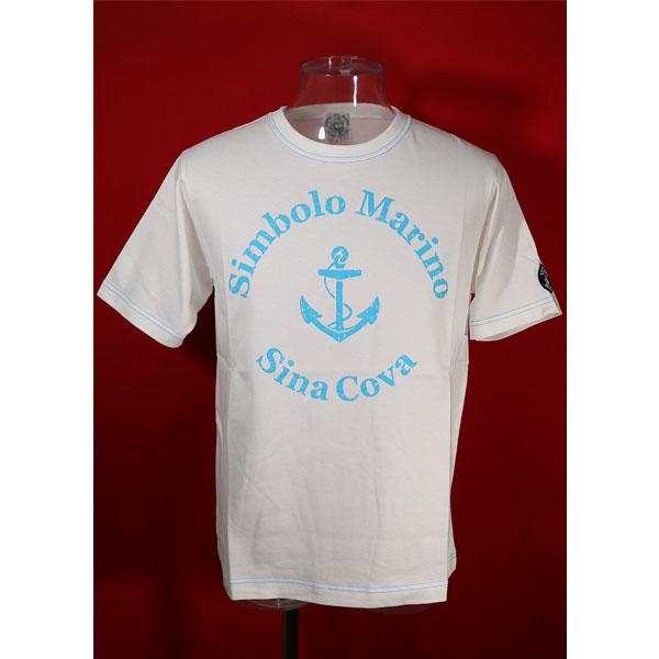 格安 価格でご提供いたします シナコバ 50%OFF 春夏半袖Tシャツ 2020モデル 白-ou156 LLサイズ