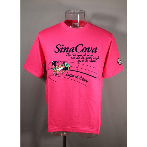 ★シナコバ<40%OFF>春夏半袖Tシャツ<Lサイズ>ピンク-ou267