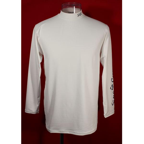 日時指定 シナコバ 30%OFF 春夏長袖コンプレッションTシャツ 返品不可 Lサイズ 白-kd33