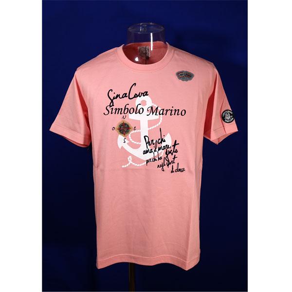 ★シナコバ<2020年新作>春夏半袖Tシャツ<LLサイズ>チェリーピンク-ke212