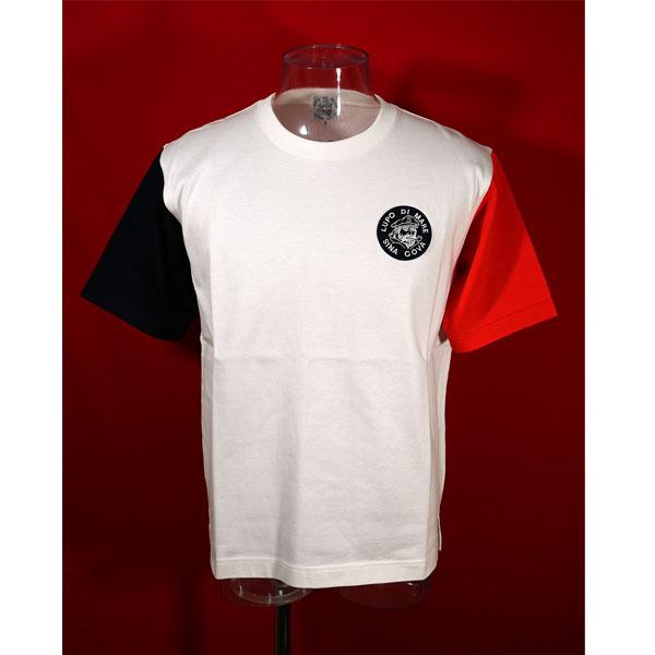 ★シナコバ<40%OFF・SINA COVA & Guest-One コラボTシャツ 限定品>春夏半袖Tシャツ<キングサイズ>オフ白-kf80