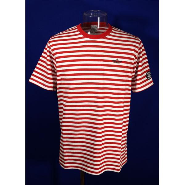 即納最大半額 シナコバ 40%OFF 春夏半袖Tシャツ Lサイズ 白 赤-kh10 誕生日プレゼント