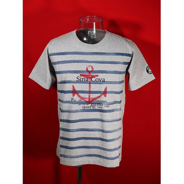 シナコバ 40%OFF 春夏半袖Tシャツ 在庫一掃 LLサイズ 限定価格セール モクグレー-kh106