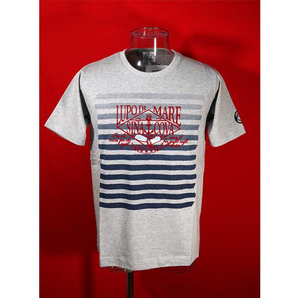 特価キャンペーン 定番 シナコバ 40%OFF 春夏半袖Tシャツ モクグレー-kh190 Lサイズ