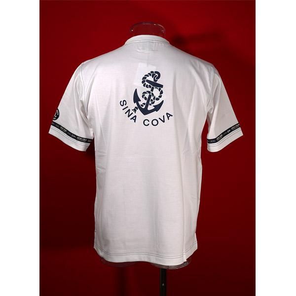 シナコバ 40%OFF 新色追加 SINA COVA Guest-One 予約 Mサイズ 白-kr92 春夏半袖Tシャツ 限定品 コラボTシャツ