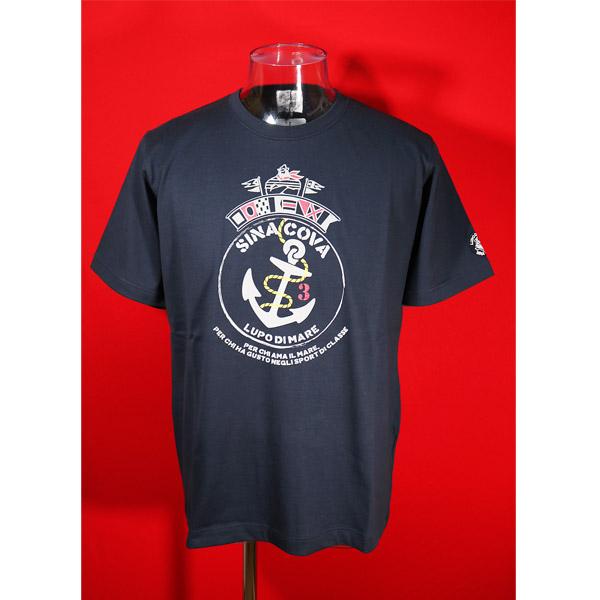 日本最大級の品揃え シナコバ 40%OFF 春夏半袖Tシャツ 紺-ks81 トラスト Mサイズ
