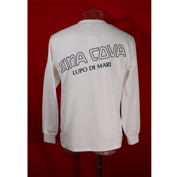 シナコバ 30%OFF SINA COVA Guest-One キングサイズ マート 白-ow23 限定品 秋冬長袖Tシャツ コラボTシャツ 定番スタイル