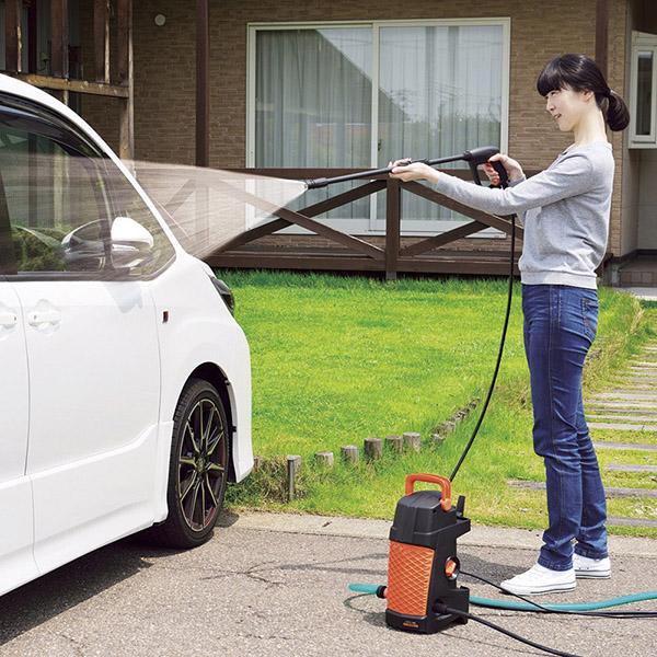 送料無料高圧洗浄機 WM 65T8B 洗車 窓 網戸 ベランダ 水やり 外壁 節水 外掃除tyrCdeWQEoxB