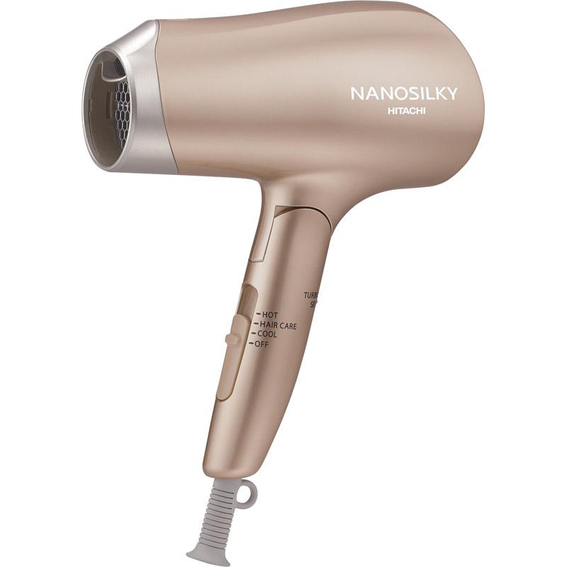 【送料無料】日立 ドライヤー ゴールド HD-N700(N)【ドライヤー ドライアー 乾燥 髪の毛 ヘアスタイル 日立 マイナスイオン ナノイオン 髪型 静電気 まとまる 折りたたみ 頭皮 うるおい】