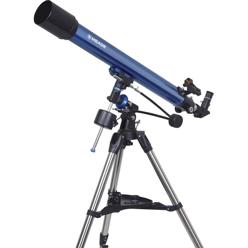 【送料無料】MEADE 赤道儀式天体望遠鏡 EQM-70【望遠鏡 天体 天体観測 自由研究 星 月 土星 衛星 子ども 100倍 meade】