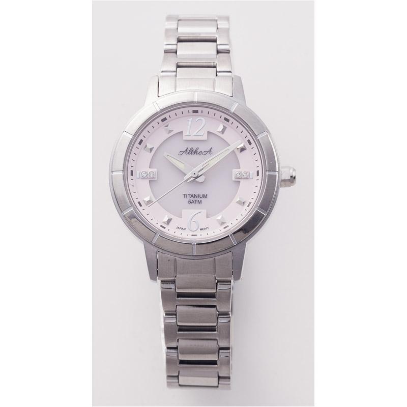 【送料無料】 アルテア レディース ソーラー腕時計 AL102LC