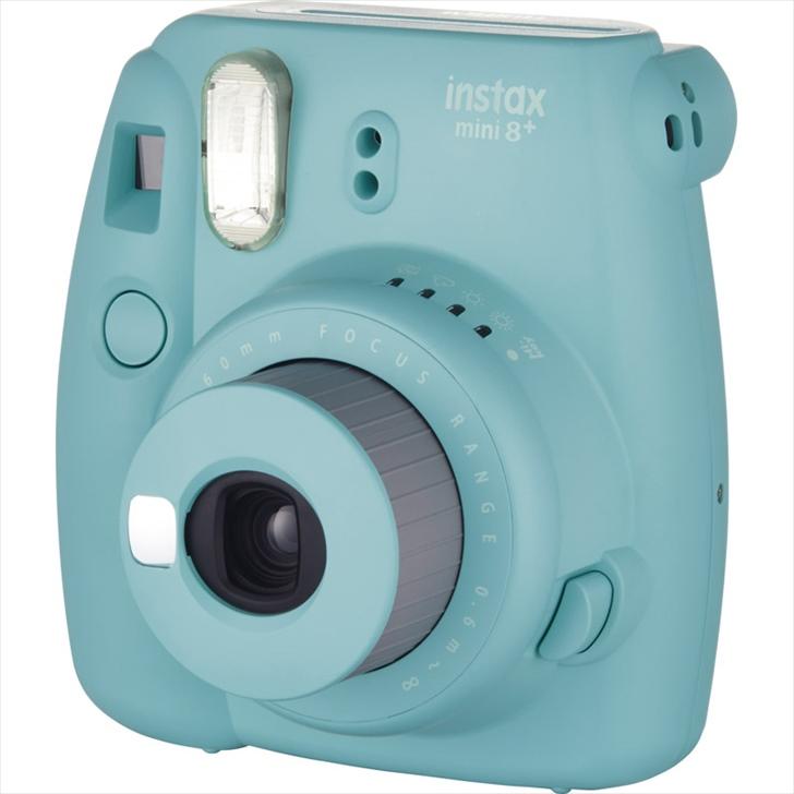 フジフィルム チェキ インスタントカメラ instax mini8プラス ミント #16495910【チェキカメラ 本体 かめら カメラ かわいい みに8プラス fujifilm 思い出 写真 自撮り 撮影 セルフィー】